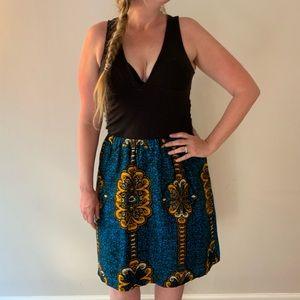 Dresses & Skirts - African Wax Print High Waist Skirt